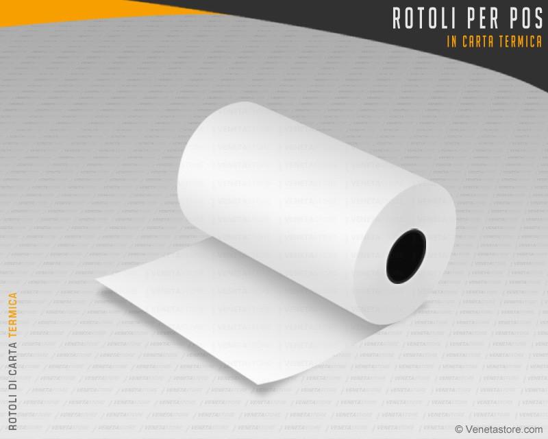 Rotoli Di Carta Colorata : Rotoli di carta termica venetastore rotoli termici prezzi e