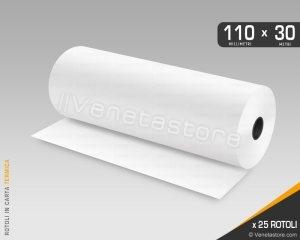 Rotoli carta termica 110x30