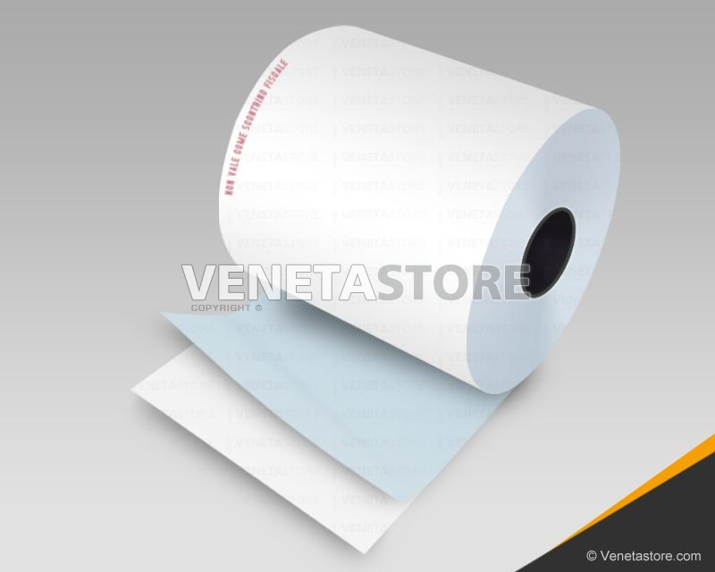 Rotoli carta termica adesiva